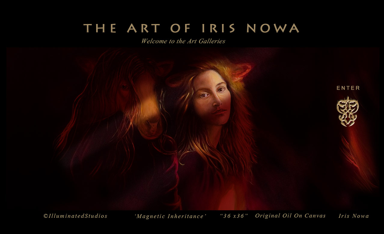 the master paintings of Iris Nowa